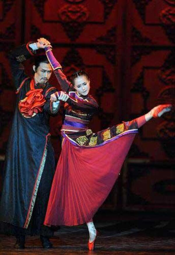 dance ballet raise the red lantern chinese ballet