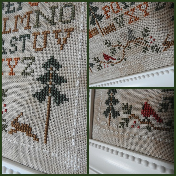 Woodland Sampling - Little House Needleworks