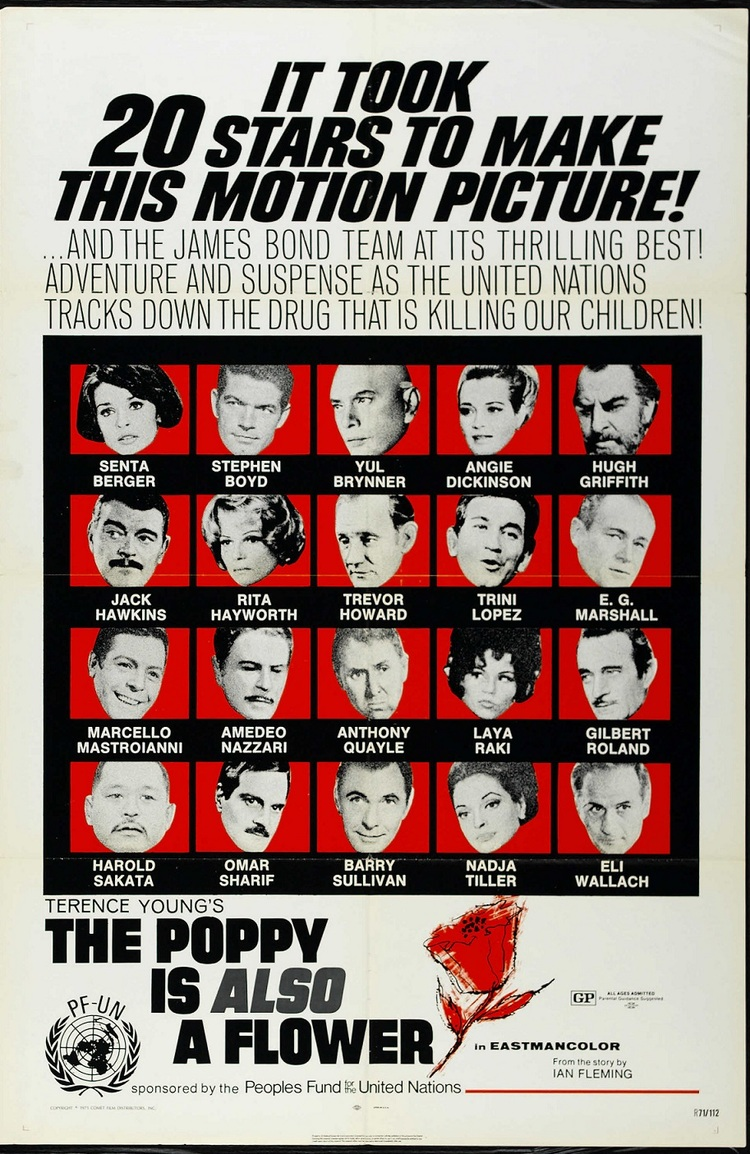 THE POPPY IS ALSO A FLOWER BOX OFFICE USA 1966