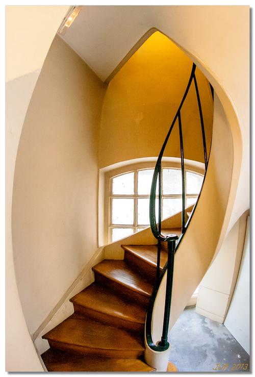 Escalier, Sorbonne, Paris