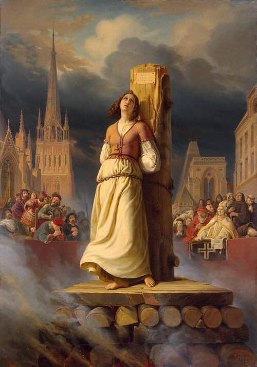 Jeanne d'Arc - Morte à Rouen ?