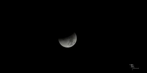 Eclipse Lunaire de la nuit du 28.09.2015