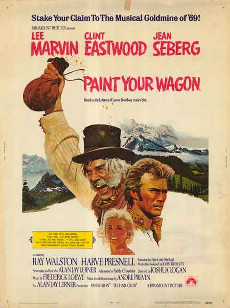 PAINT YOUR WAGON BOX OFFICE USA 1969