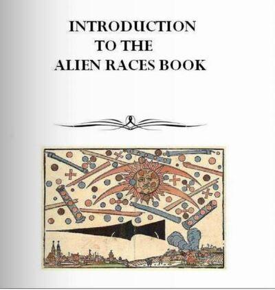 Le livre Russe des races extra-terrestres
