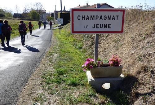 Champagnat le Jeune.Rando du 24.10.2018.Clichés de Roland