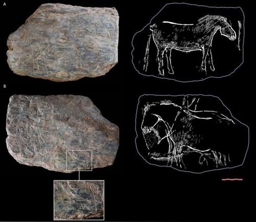 Les plus anciennes pierres gravées de Bretagne