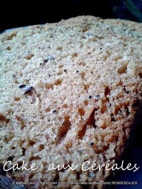 Cake aux céréales
