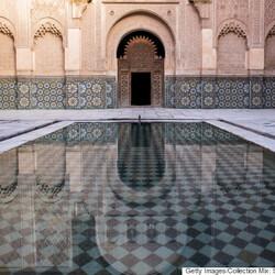 La medersa Ben Youssef, Maroc