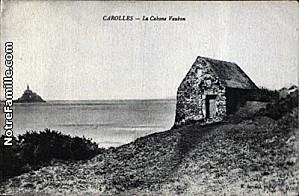 cartes-postales-photos-La-Cabane-Vauban-CAROLLES-50740-1030