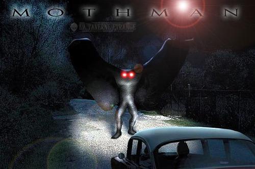 Le Mothman observé plusieurs fois à Chicago depuis 2017