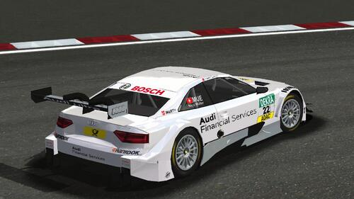 Audi Sport Team Rosberg Audi RS5 DTM