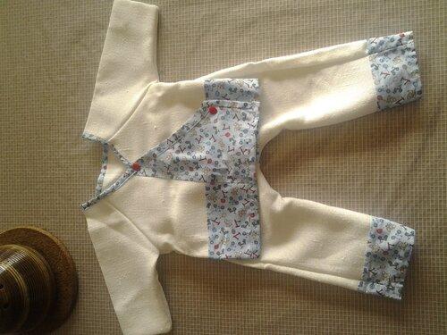 Kimono pour mon petit Maho!