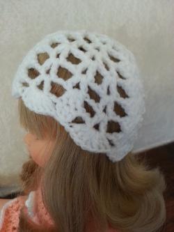 Tuto du bonnet crochet pour poupée Marie Françoise