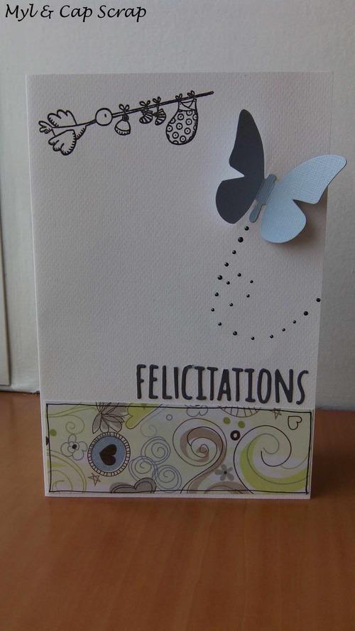 Mylène - Carte Félicitations