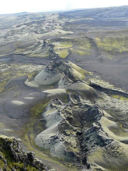 Laki. Volcan Islande