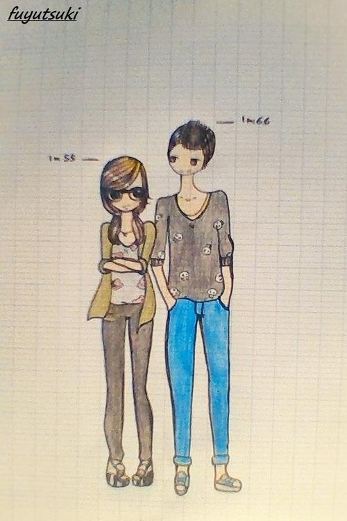 mes dessin n°4 Alice et Nico