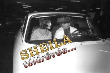 Décembre 1965 : Sheila s'offre une Alfa-Roméo ! INEDIT...