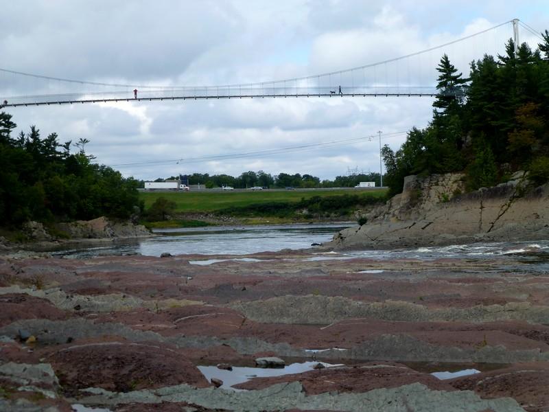 Les chutes de la Chaudière (Québec)
