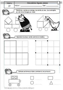 Geometrie CP : les figures planes