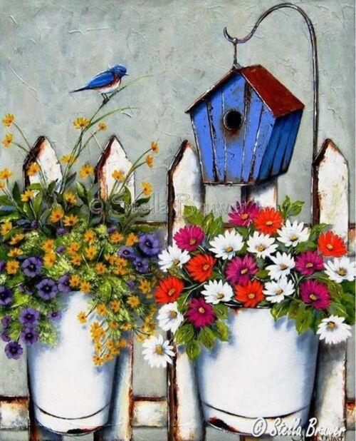 Objets fleuris