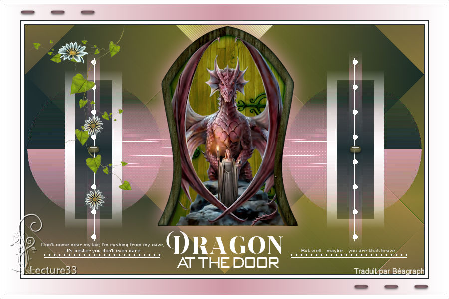 DRAGON AT THE DOOR