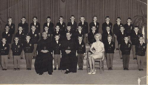 École 1962-63 :