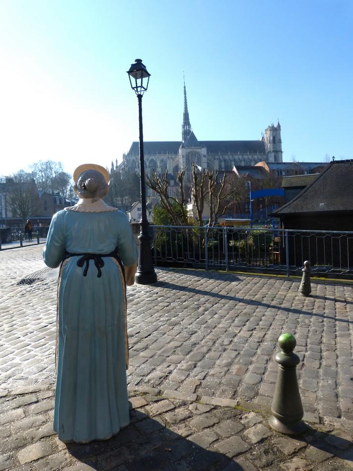 Après la visite de la cathédrale ...