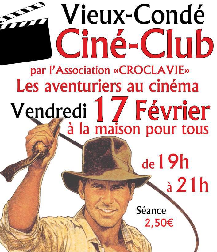 Ciné-club «les aventuriers du cinéma», à Vieux-Condé