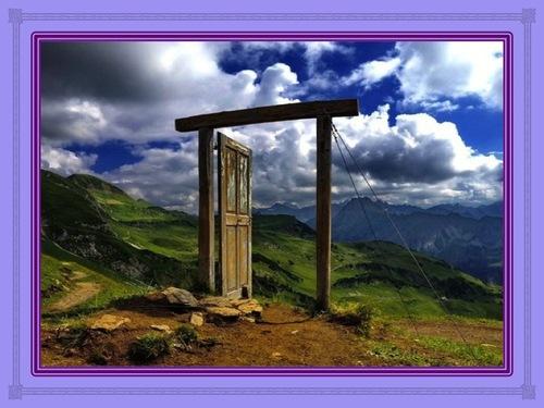 Lorsque Dieu ouvre une porte