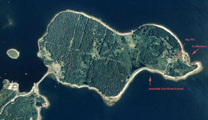 Énigmes Historiques:  L'insaisissable trésor de l'Ile-aux-Chênes