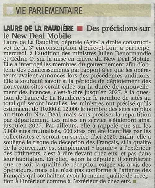 ALERTE 4G : Couverture totale en Eure-et-Loir d'ici 2022