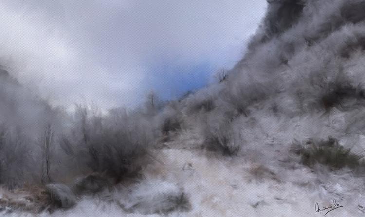 Promenade en montagne prés d'Argentière