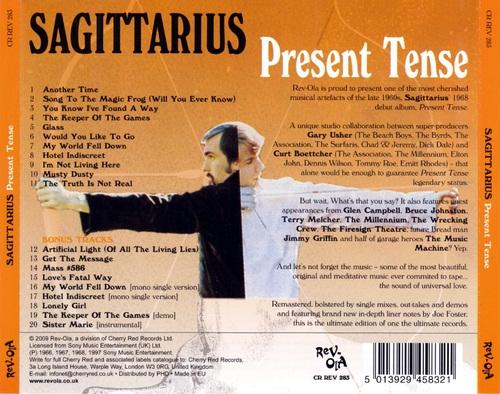 Chefs d'oeuvre oubliés # 8 : Sagittarius - Present Tense (1968 Ed 2009)