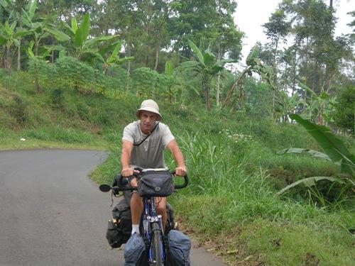 Java à vélo
