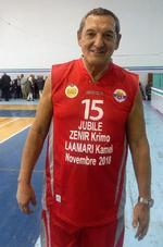 l'ancien Basketteur du Mouloudia Zenir Krimo