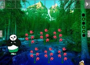 Jouer à Valentine panda rescue
