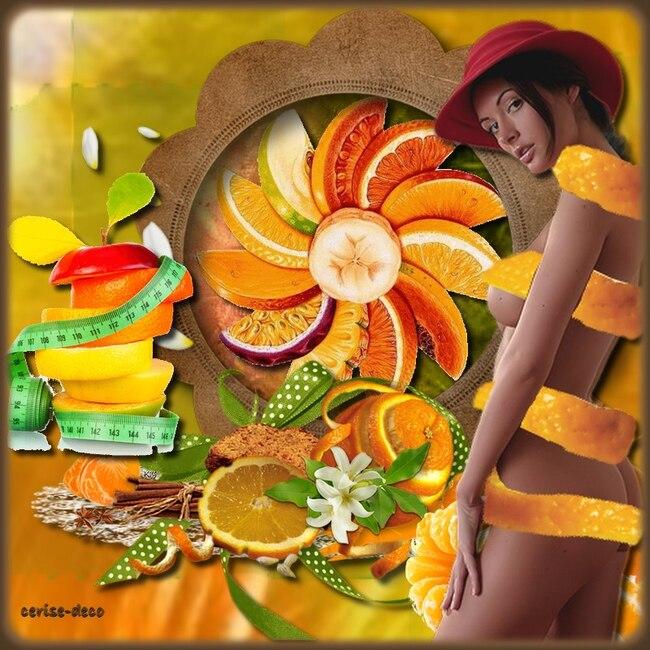 gifs les oranges et la santé pour le défi d'anastasia