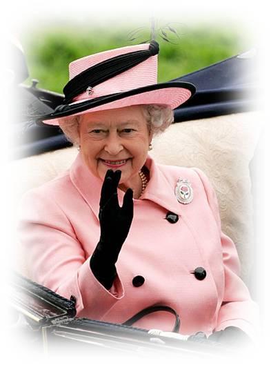 Chapeaux et Broches de la Reine Elisabeth 2