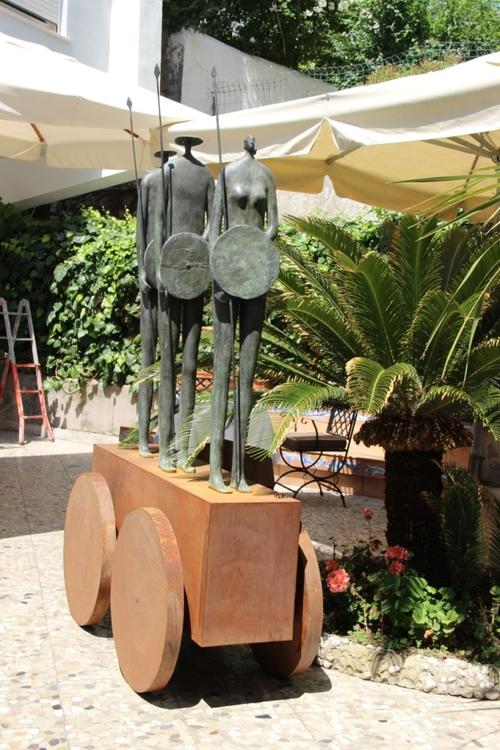 Capri : les jardins d'Auguste et la via Krupp