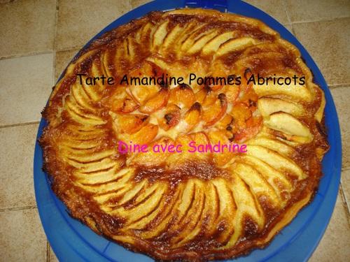 Une Tarte Amandine Pommes Abricots