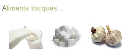 Aliments toxiques