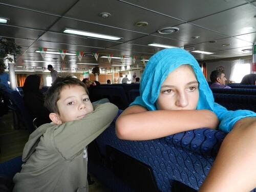 Frontière UAE - Iran