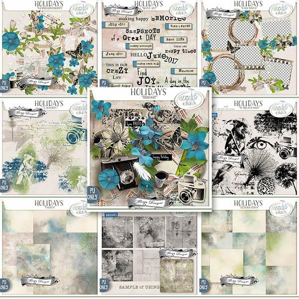 Holidays { Bundle PU } by Florju Designs