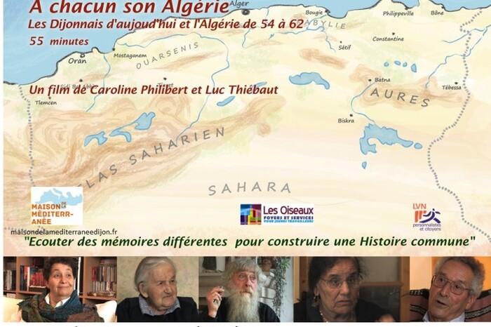 Film : « À chacun son Algérie » « Les Dijonnais d'aujourd'hui et l'Algérie de 1954 à 1962 »
