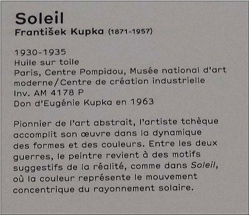 """Soleil"" - Frantisek Kupka"