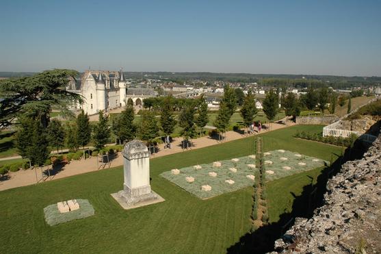Le jardin d'Orient (Amboise) par JF Le Scour