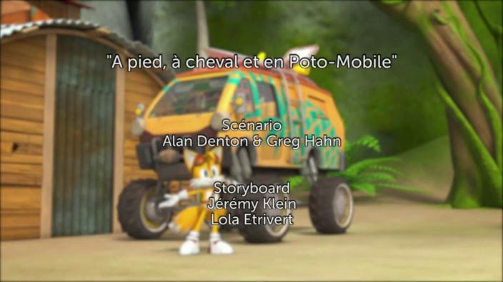 Sonic Boom - 2x36 - À pied, à cheval et en Poto-Mobile