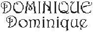 Dictons de la Ste Dominique + grille prénom !