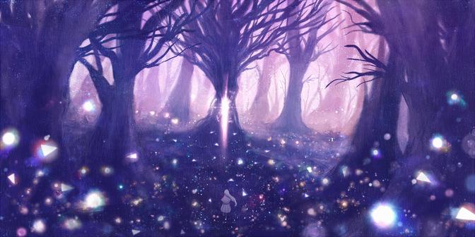 La forêt de crystal