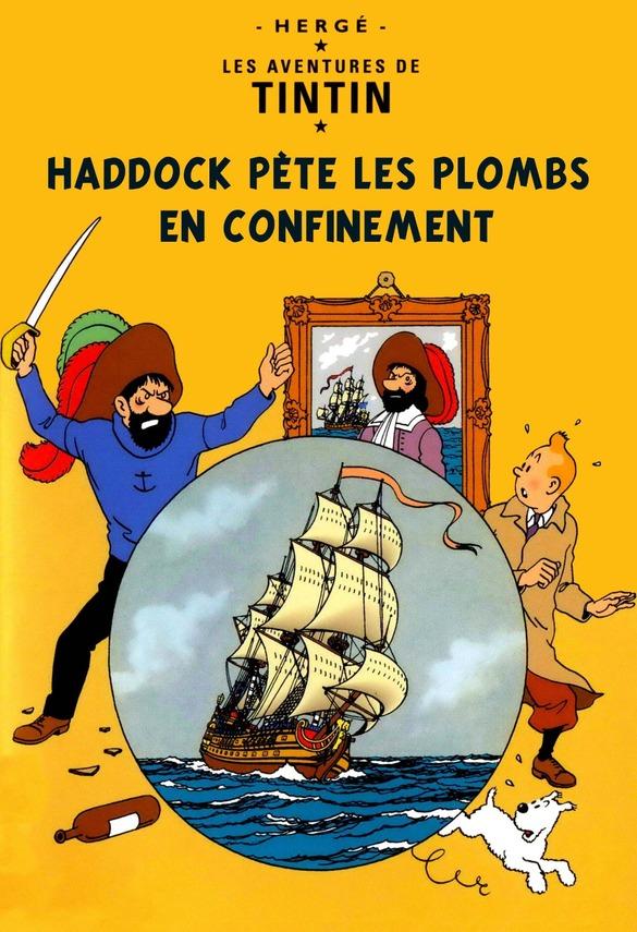 Rions avec Tintin ....